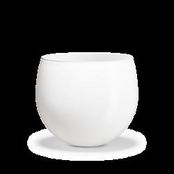 Doniczka Cocoon 12,8 cm, biała - HOLMEGAARD