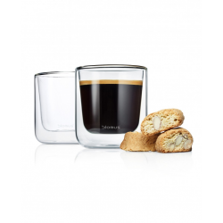 Zestaw 2 szklanek Caffe/Tea NERO, 200 ml - BLOMUS