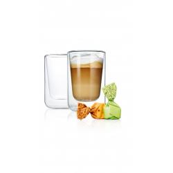 Zestaw 2 szklanek Cappucino NERO, 250 ml - BLOMUS