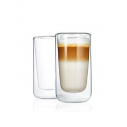 Zestaw 2 szklanek Latte NERO, 320 ml - BLOMUS