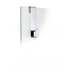Wieszak na kabinę prysznicową Areo, polerowany - BLOMUS