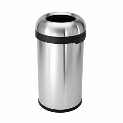 Kosz na śmieci 60L BULLET OPEN - stal - Simplehuman