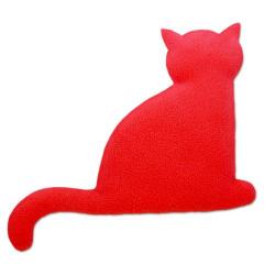 Poduszka termiczna z wkładem z pszenicy kot Minina Fire - LESCHI