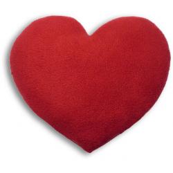 Poduszka termiczna z wkładem z pszenicy Fire, serce - LESCHI