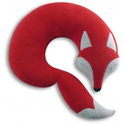 Poduszka na szyję lisek Peter, Fire - LESCHI