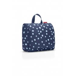 Kosmetyczka toiletbag XL spots navy - Reisenthel