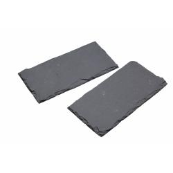 Podstawka z łupka, prostokątna x 2 (20 x 10 cm) - Kitchen Craft