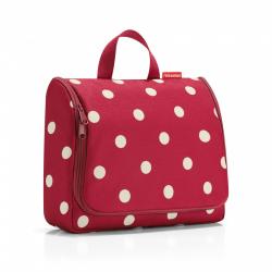 Kosmetyczka toiletbag XL ruby dots - Reisenthel