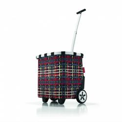 Wózek na zakupy carrycruiser wool - Reisenthel