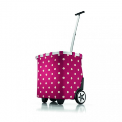 Wózek na zakupy carrycruiser ruby dots - Reisenthel