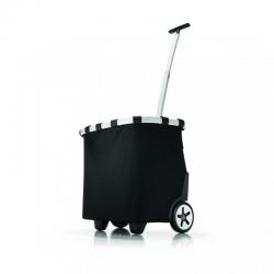 Wózek na zakupy carrycruiser black - Reisenthel