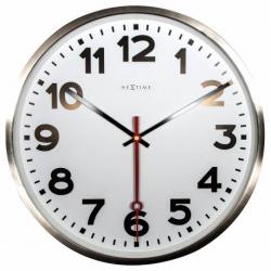 Zegar ścienny Super Station Number, 55 cm - NEXTIME