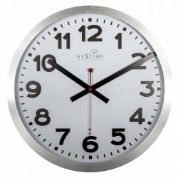 Zegar ścienny Station Number Radio Controlled, 35 cm - NEXTIME