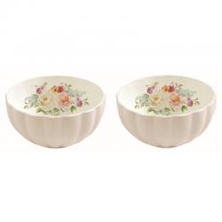 Zestaw 2 szt. miseczek z porcelany 1286ROYB - Nuova R2S