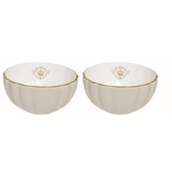 Zestaw 2 szt. miseczek z porcelany 1286WAGR - Nuova R2S