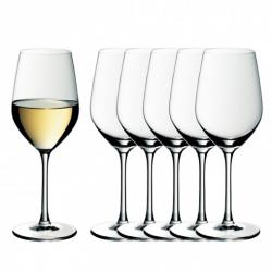 Zestaw sześciu kieliszków do białego wina easy Plus - WMF