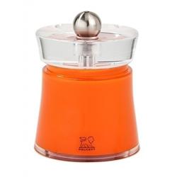 Młynek do soli i pieprzu Bali, pomarańczowy, 8 cm - PEUGEOT