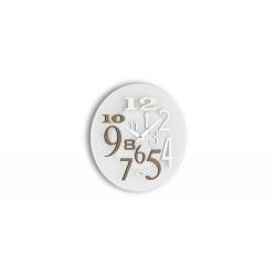 Zegar ścienny Free 036 GRA, grigio alevè - Incantesimo Design