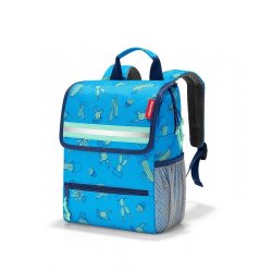 Plecak backpack kids cactus blue - Reistenhel