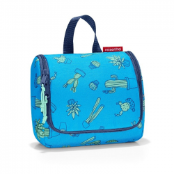 Kosmetyczka toiletbag S kids cactus blue - Reisenthel