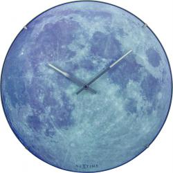 Zegar ścienny Moon Dome, 35 cm - NEXTIME