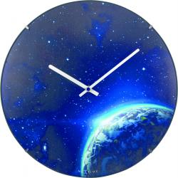 Zegar ścienny Globe Dome, 35 cm - NEXTIME