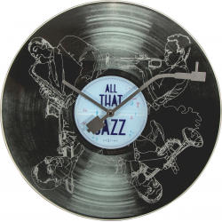 Zegar ścienny All the Jazz, 43 cm - NEXTIME