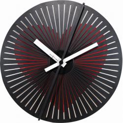 Zegar ścienny Kinegram Heart, 30 cm - NEXTIME