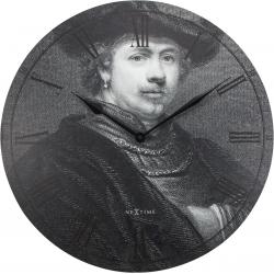 Zegar ścienny Rembrandt, 50 cm - NEXTIME