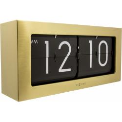 Zegar stojący Big Flip Gold - NEXTIME