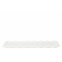 Talerz prostokątny - biały - Emile Henry