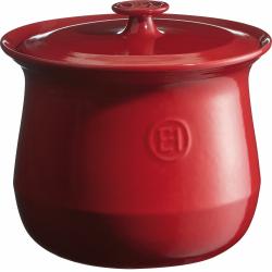 Kociołek ceramiczny czerwony 4L - Emile Henry