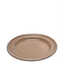 Talerz obiadowy 28 cm, beżowy - Emile Henry