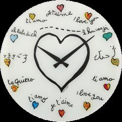Zegar ścienny Loving You - NEXTIME