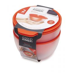 Zestaw 2 misek do mikrofali M-Cuisine™, 550 ml - Joseph Joseph