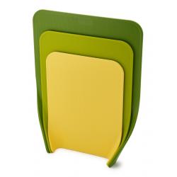 Zestaw 3 desek do krojenia, zielonych, Nest™ - Joseph Joseph
