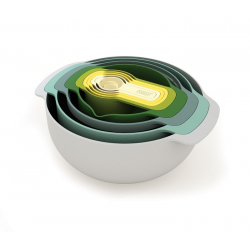 Zestaw misek i miarek Nest 9 Opal - Joseph Joseph