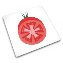 Podkładka szklana 30x30, Red Tomato - Joseph Joseph