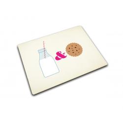 Podkładka szklana Milk & Cookies 40x30 cm - Joseph Joseph