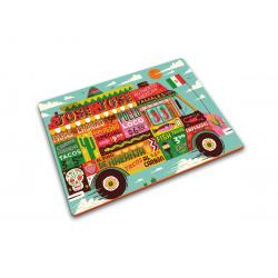 Podkladka szklana, Food Truck 40 x 30 - Joseph Joseph