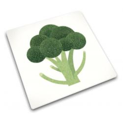 Podkładka szklana 30x30, Broccoli - Joseph Joseph