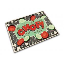 Podkładka prostokątna COMIC CHOP, 30x40 cm - Joseph Joseph