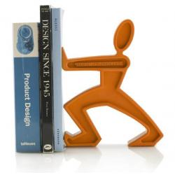 Podpórka do książek JAMES, pomarańczowa - BLACK+BLUM
