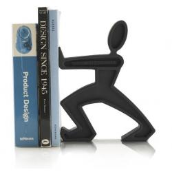 Podpórka do książek JAMES, czarna - BLACK+BLUM