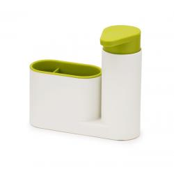 Zestaw 2cz do zlewu, biało-zielony, SinkBase - Joseph Joseph