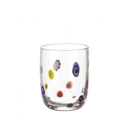 Szklanka niska, Millefiori - Leonardo