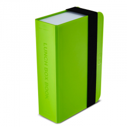 Lunch box - książka, zielony - BLACK+BLUM