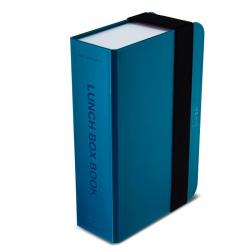 Lunch box - książka, niebieski - BLACK+BLUM