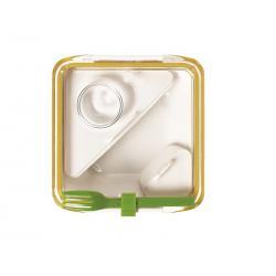 Lunch box BOX APPETIT pomarańczowo-biały - BLACK+BLUM