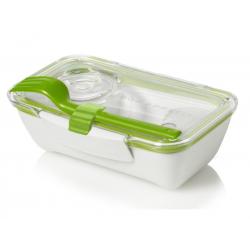 Pojemnik BENTO BOX biało-zielony - BLACK+BLUM